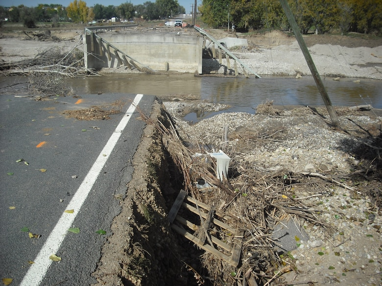 The Denver Regulatory office is using various Nationwide Permits where feasible to assist with repairs and rebuilding following devastating flooding in September. A permit was requested to rebuild bridge abutments, which is a typical request that would be authorized using a Nationwide Permit #14.