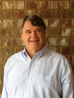 Joe Woods has published his fifth novel, Secrets of the Spiral Tower.  Woods retired from the U.S. Army Corps of Engineers' Vicksburg District in 2003 after a 40-year career in federal service.  He started writing in 1992 while recuperating from a severe heart attack.(Photo courtesy of Joe Woods)