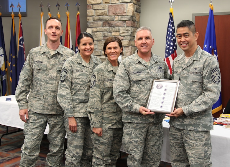 Outgoing commander recalls personal, professional
