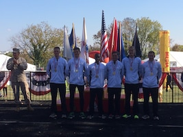 2013 Armed Forces Mens Team Champions:  