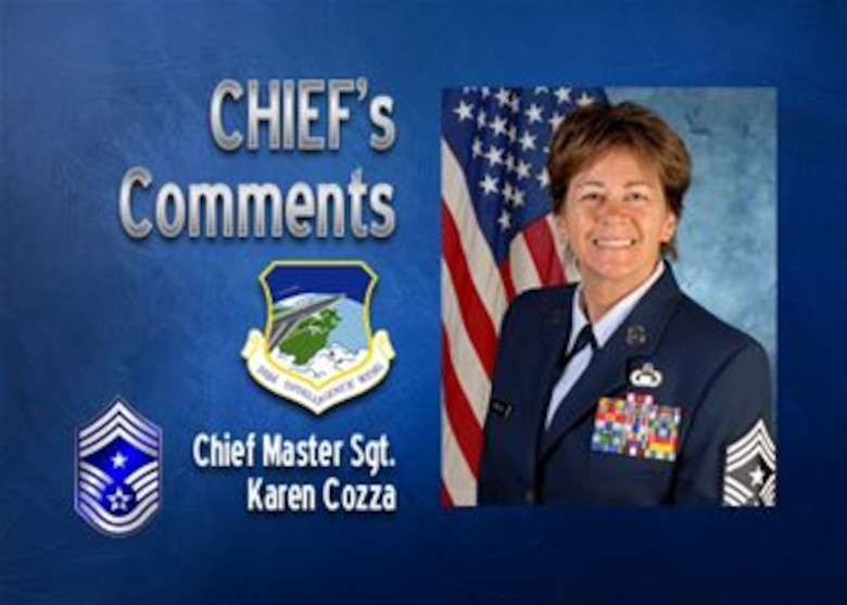 Chief Master Sgt. Karen Cozza
