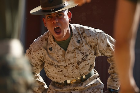 Drill instructors use incentive training to instill discipline and motivation in recruits. Incentive training consists of physical exercises administered in a controlled and deliberate manner and is used to correct minor disciplinary infractions. The length of an incentive training session is based upon how far along recruits are in training.