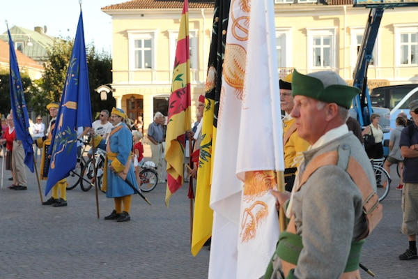 Opening Ceremony of the 2013 CISM World Orienteering Military Championship hosted by the Swedish Armed Forces in Eksjo, Sweden from 26 August to 1 September.