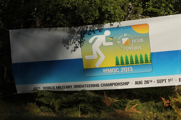 The 2013 CISM World Orienteering Military Championship hosted by the Swedish Armed Forces in Eksjo, Sweden from 26 August to 1 September.