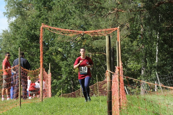 2LT Hannah Culberg (Army)leads the U.S. charge at the 2013 CISM World Orienteering Military Championship hosted by the Swedish Armed Forces in Eksjo, Sweden from 26 August to 1 September.