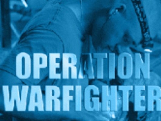 Operation Warfighter (OWF) is a Department of Defense program that places active duty service members in internships with federal agencies during their recovery.