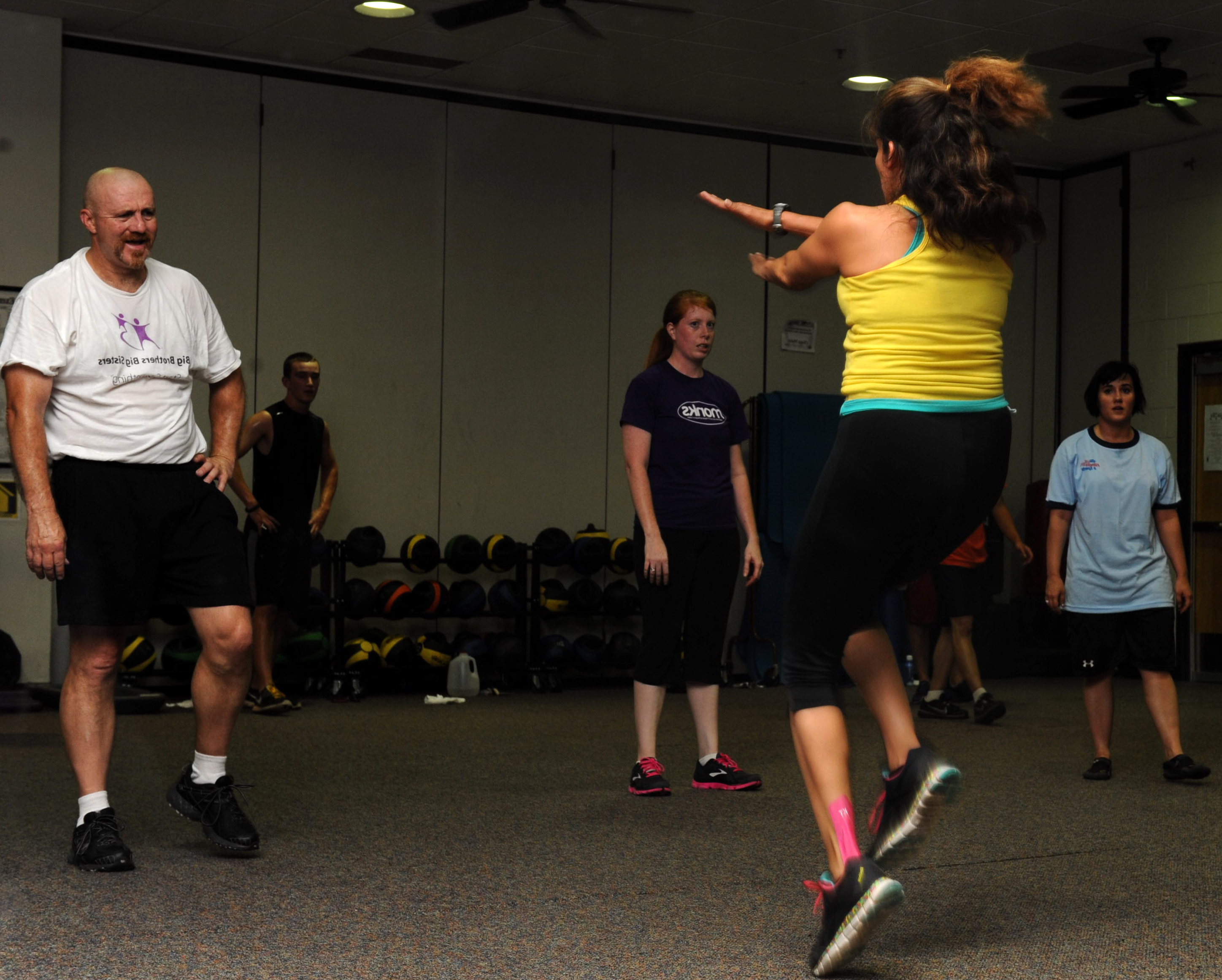 Insanity A Workout For All Dyess Air