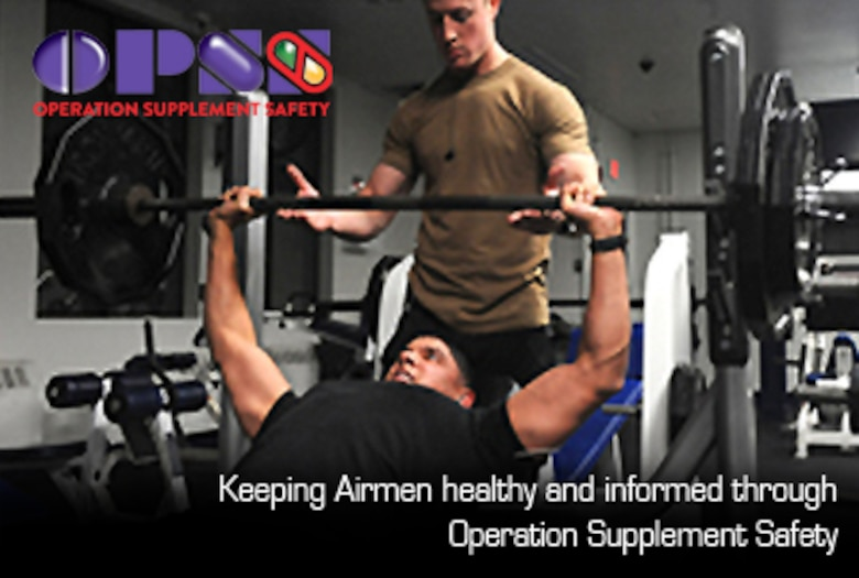 Keeping Airmen healthy and informed through Operation Supplement Safety (AF Graphic / Steve Thompson)