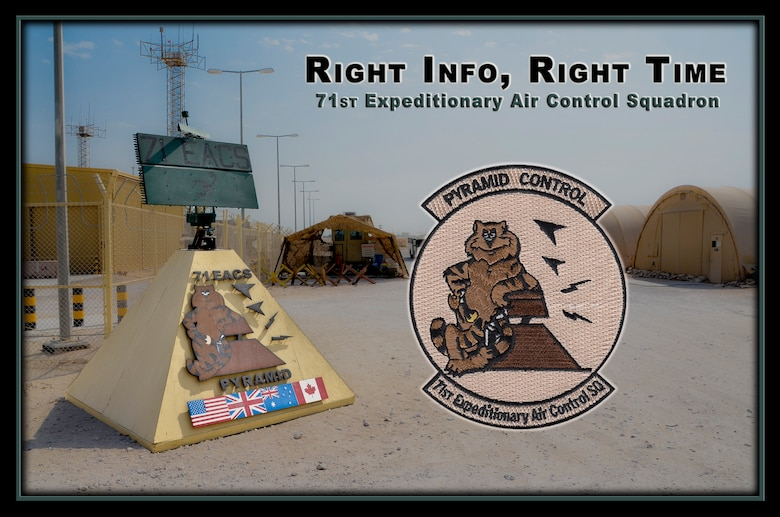 During lightning-fast air combat, every decision makes an impact, and for 71st Expeditionary Air Control Squadron command and control battle management operators at the 379th Air Expeditionary Wing in Southwest Asia, choosing the right aircraft for the right mission is just another day on the job. (U.S. Air Force photo illustration/Staff Sgt. Benjamin W. Stratton)