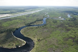 Kissimmee River oxbow near Phase IV-A