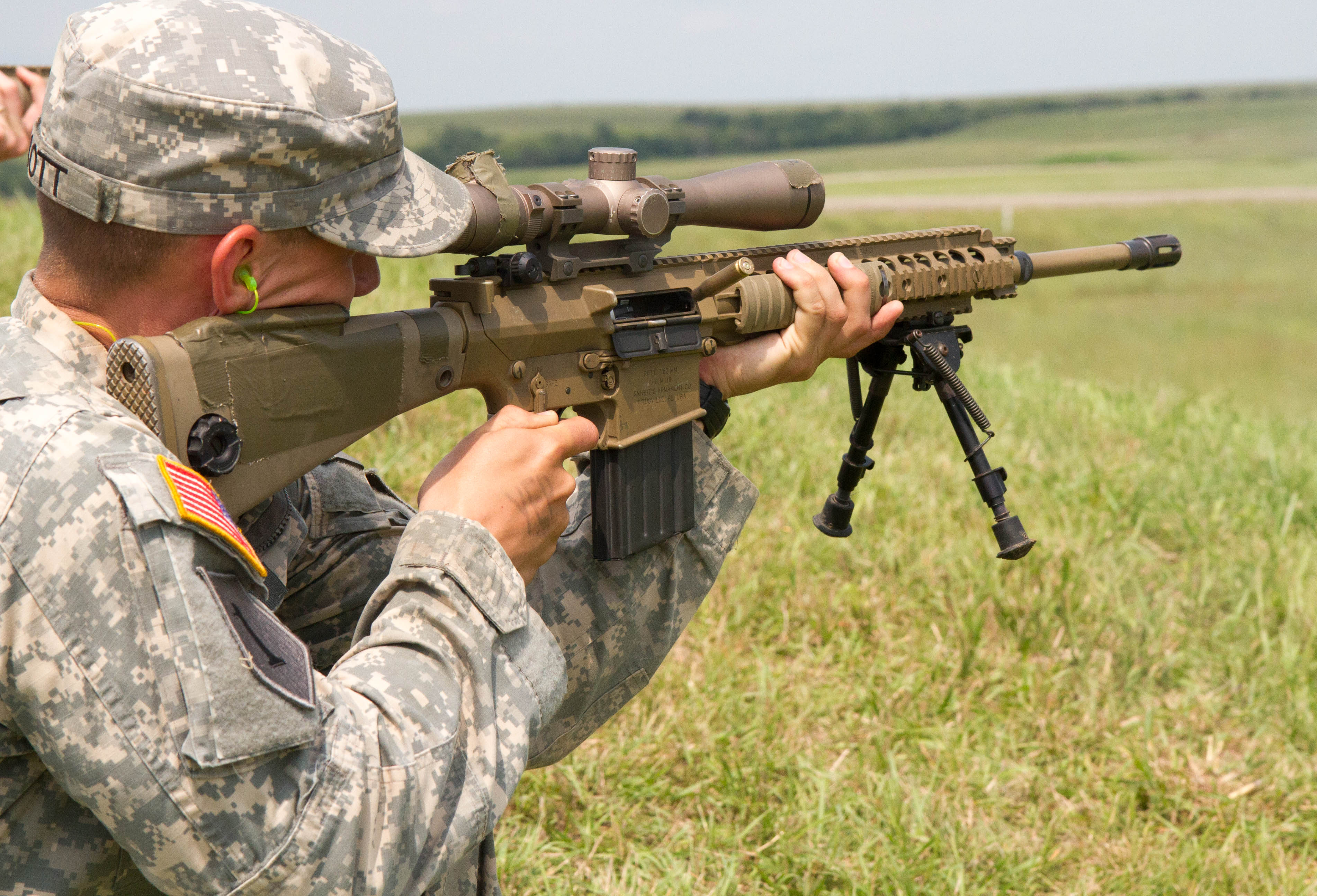 Photo Details    Download   M110 Semi Automatic Sniper System