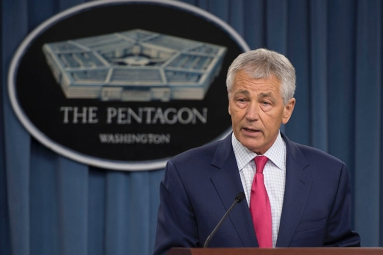 During Suicide Prevention Awareness Month, Secretary of Defense Chuck Hagel says it's time for the defense community to display its collective resolve to prevent suicide, to promote greater knowledge of its causes and to encourage those in need to seek support.  Photo courtesy Dept. of Defense