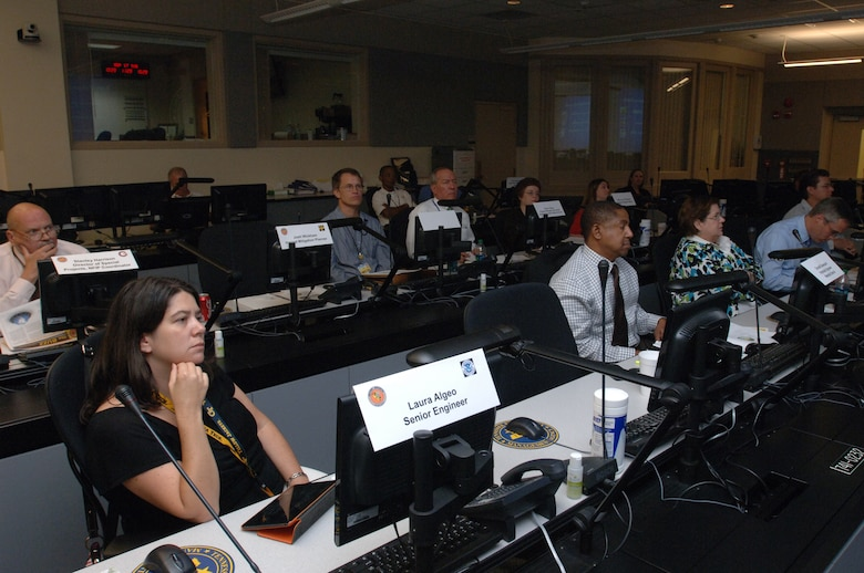 Representatives from Tennessee and federal agencies participate in the Silver Jackets Kick-Off at the Tennessee Emergency Management Agency in Nashville, Tenn., Sept. 17, 2013.