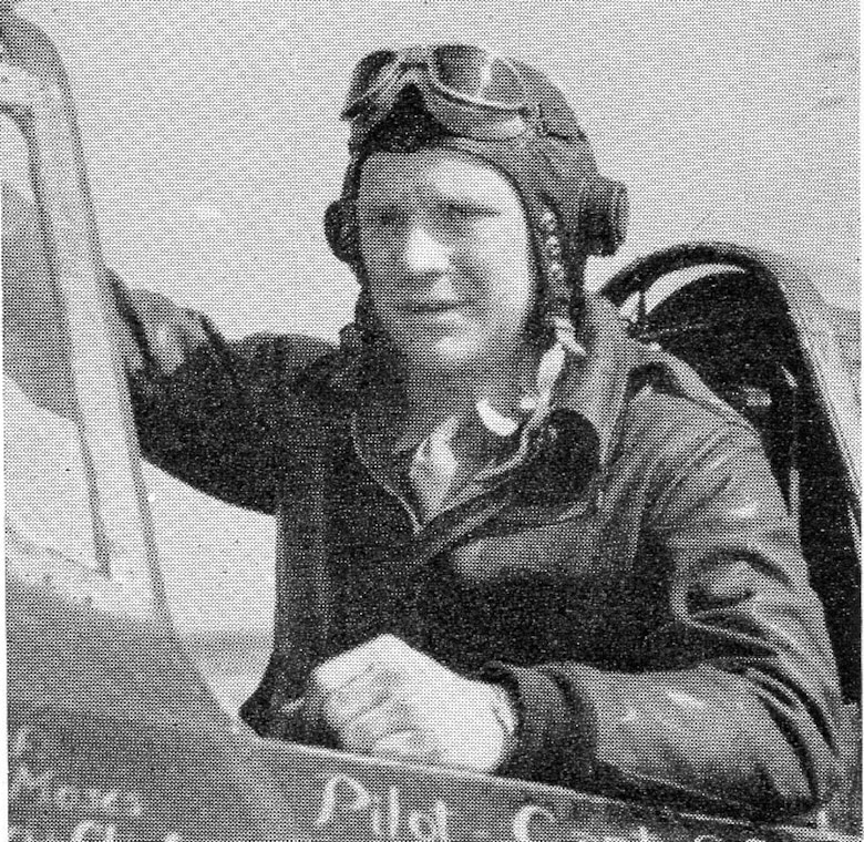 Capt. George D. Pieck, Operations Officer of the 404th Fighter squadron, posed for a picture in the cockpit of his P-47D Thunderbolt.  He was the squadron's first victor in aerial combat when he shot down a Luftwaffe ME-109 on June 8, 1944, which was the day when the 371st Fighter Group achieved its first aerial victories of the war.  He went MIA on 10 August 1944.