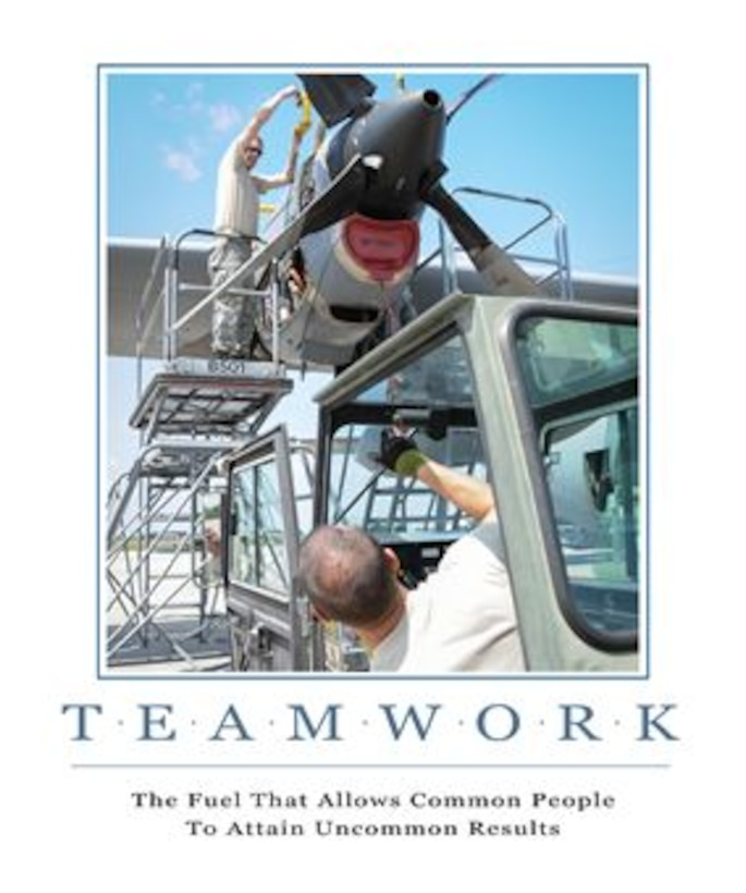Teamwork - The Fuel that Allows Common People to Attain Uncommon Results