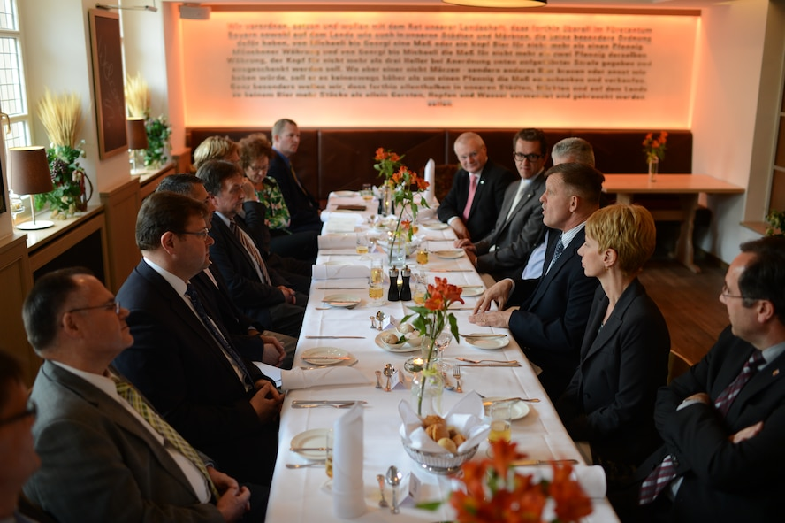 U.S. Air Force Gen. Frank Gorenc, U.S. Air Forces in Europe and Air Forces