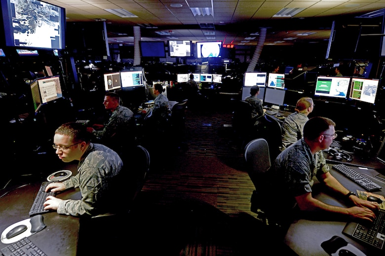 The Air Force Distributed Common Ground System (AF DCGS), also referred to as the AN/GSQ-272 SENTINEL weapon system, is the Air Force's primary intelligence, surveillance and reconnaissance (ISR) collection, processing, exploitation, analysis and dissemination (CPAD) system.  (U.S. Air Force photo)