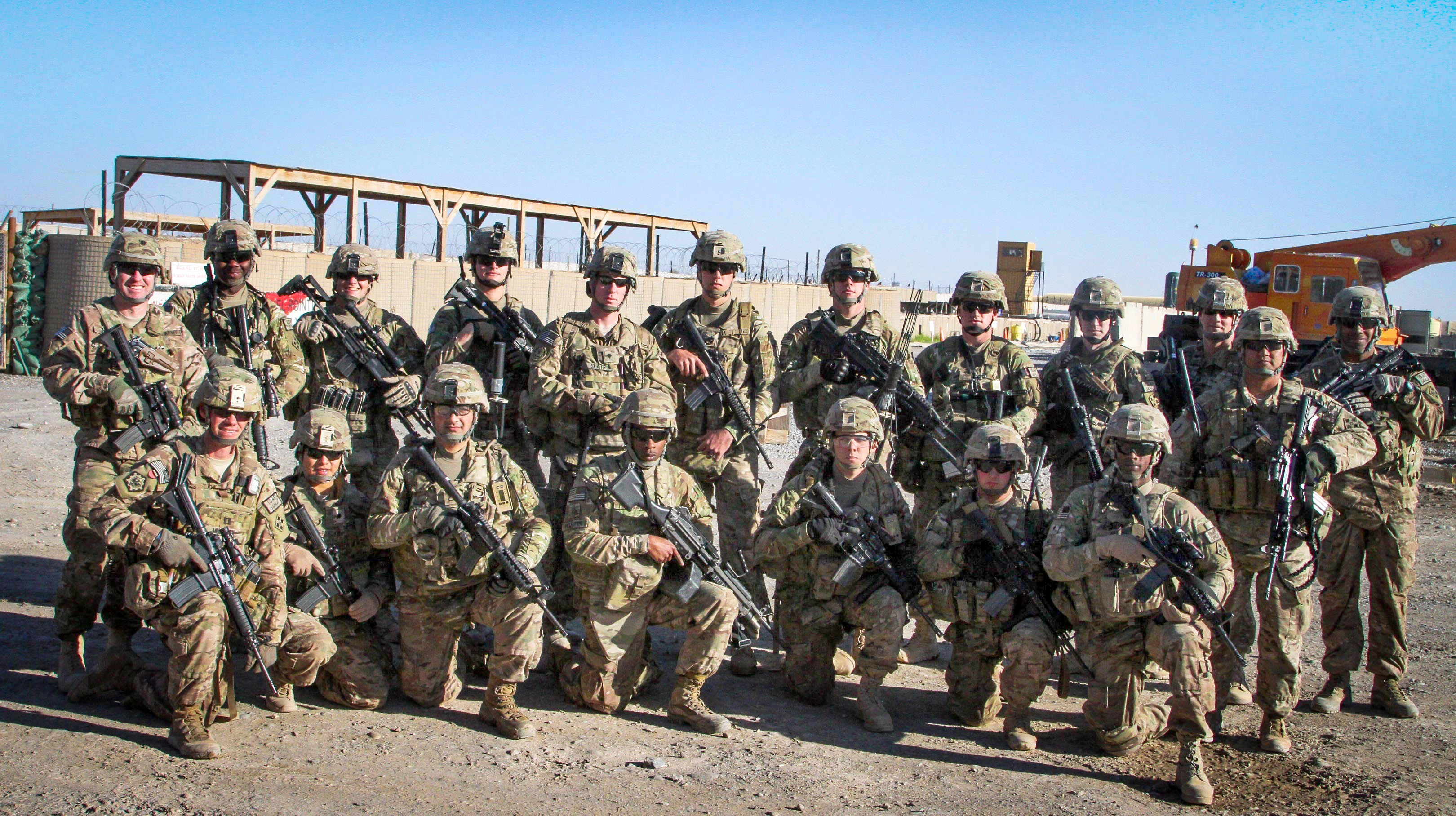 The Soldiers Assigned To Forward Support Company 65th Engineer Battalion Had Just Completed