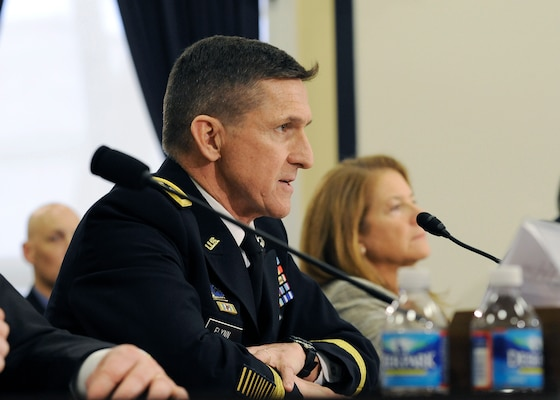 DIA Director Lt. Gen. Michael Flynn testifies before the House Armed Services Sub-Committee on Intelligence, Emerging Threats and Capabilities.