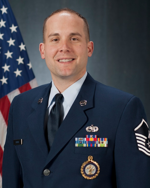 Master Sgt. Mark Bohac, a N.H. Air National Guard Recruiting supervisor, was recognized March 19 at the Grappone Conference Center in Concord as a recipient of the New Hampshire Union Leader's 40 Under Forty Granite State residents this year.