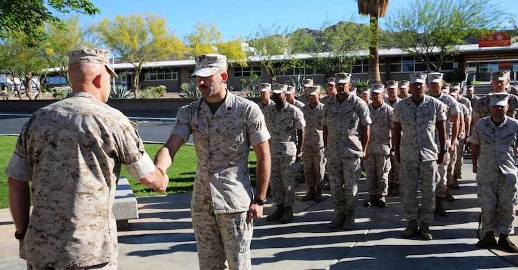 Marines Stays True To Values Earns Meritorious Promotion Marine