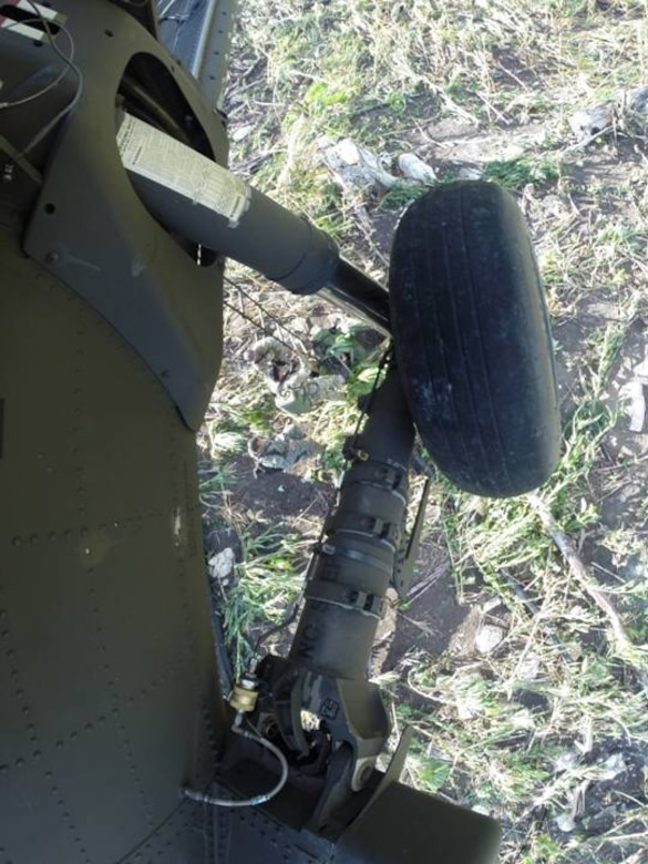 Belizean forces descend from a U. S. Army UH-60 Blackhawk to destroy marijuana fields and plants discovered during a joint marijuana eradication operation between Joint Task Force-Bravo and Belizean forces.  The operation, which lasted March 15-20, 2014, resulted in the Belizean government destroying 34 marijuana fields and approximately 57,283 mature marijuana plants for an initial estimated value of $29 million.  In addition, the team also found and destroyed 25 pounds of marijuana seeds.  Joint Task Force-Bravo provided aviation support, on-call casualty evacuation and caving ladder training for 52 Belizean personnel who participated in the operation.  (Courtesy photo)