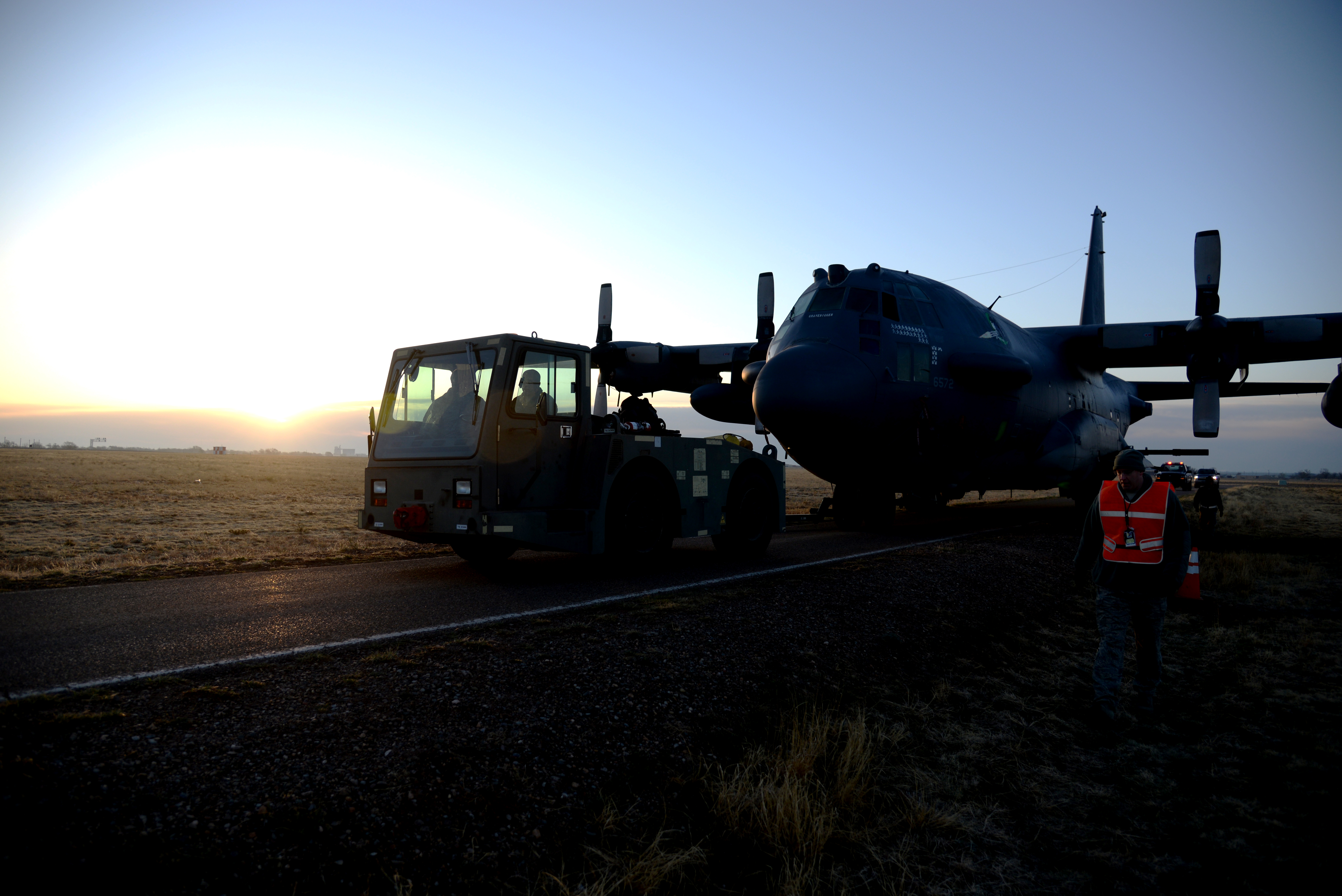 Historic Ac 130h Receives New Home Air Force Medical Service