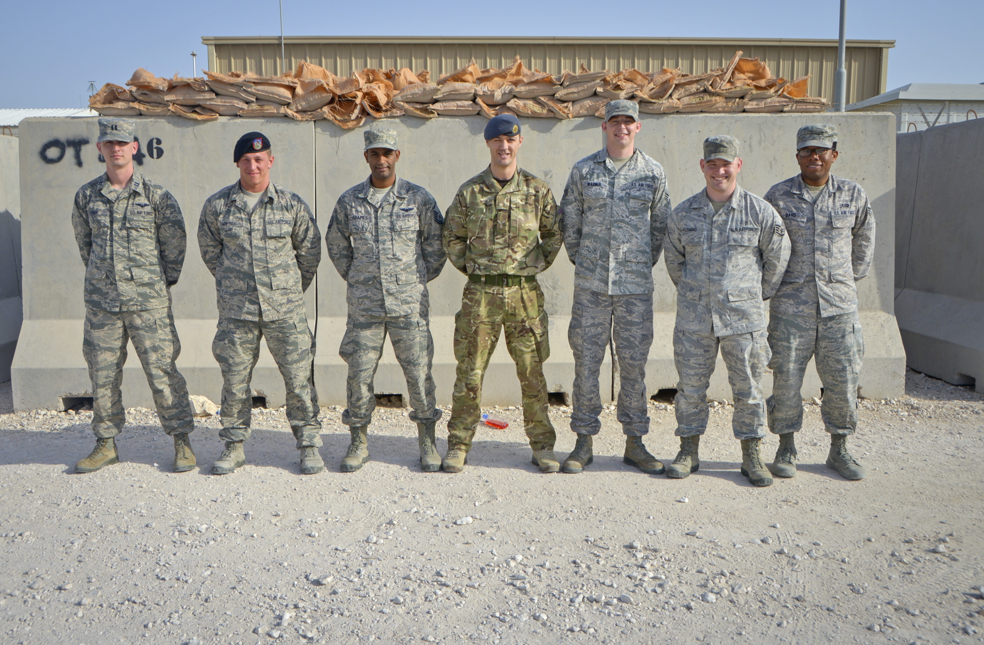 717th EASOS supports ground troops through air superiority