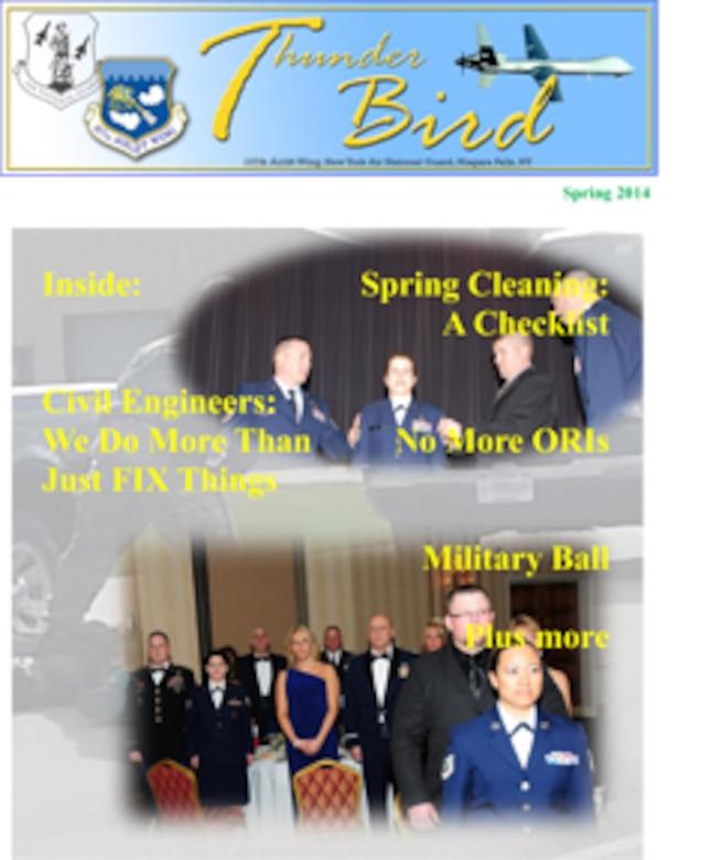 ThunderBird Winter 2014 (U.S.Air National Guard Graphic/Senior Master Sgt. Ray Lloyd)