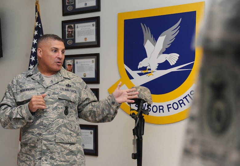 Keesler Security Forces Honors Fallen Airmen With New Memorial Air Education And Training Command Article Display