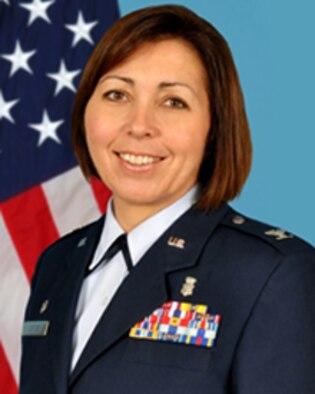 Col. Dana James, 60th Medical Operations Squadron commander