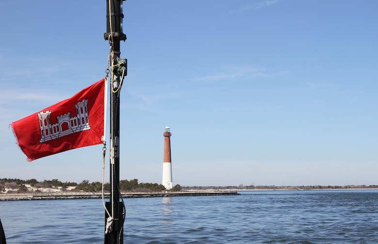 Barnegat Inlet, N.J. requires dredging to provide reliable maritime navigation for the U.S. Coast Guard and a large fishing fleet consisting of full-time commercial, charter and recreational vessels.