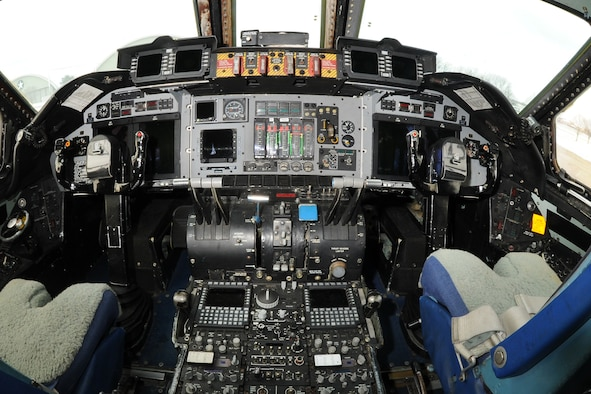 DAYTON, Ohio - Lockheed C-141C cockpit at the National Museum of the United States Air Force. (U.S. Air Force photo by Ken LaRock)