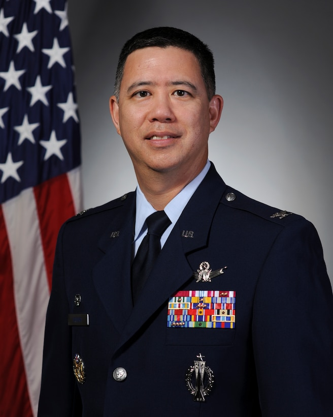 Col. Robert Uemura, 460th Support Group commander
