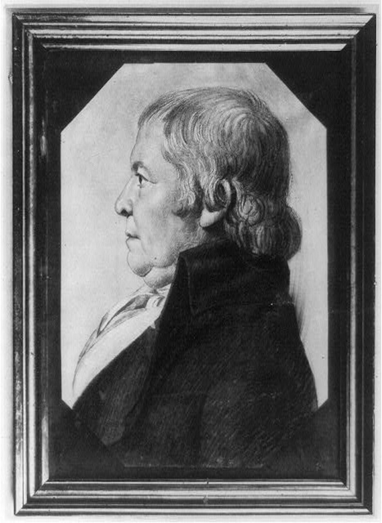 A portrait of Paul Revere created circa 1887. Photo courtesy of the Library of Congress.