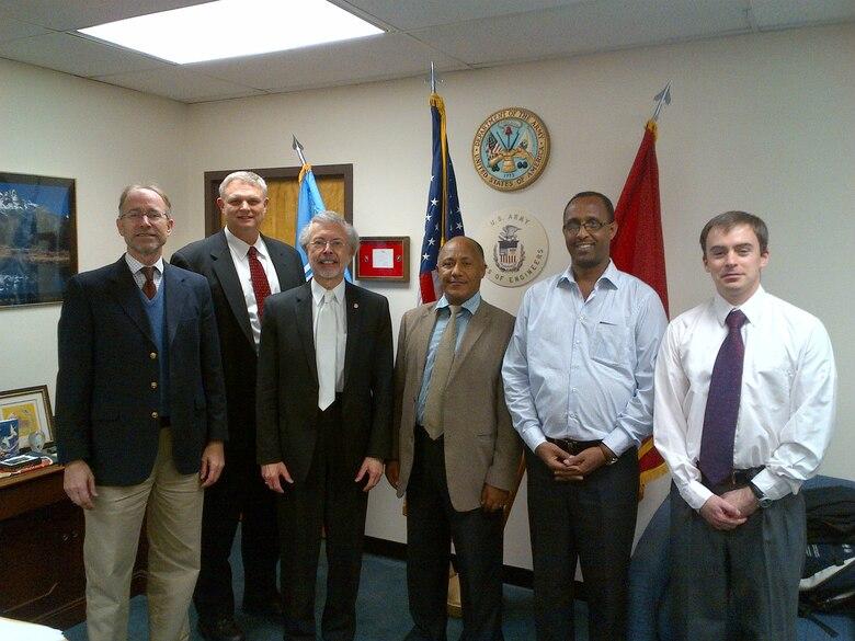 Addis Ababa University Delegation Visits IWR > Institute for