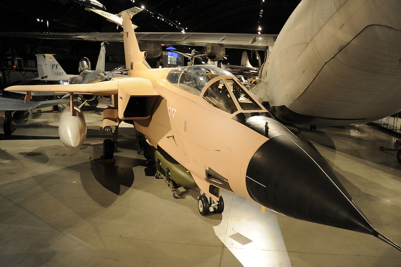 DAYTON, Ohio -- Panavia Tornado in the Cold War Gallery at the National Museum of the United States Air Force. (U.S. Air Force photo)