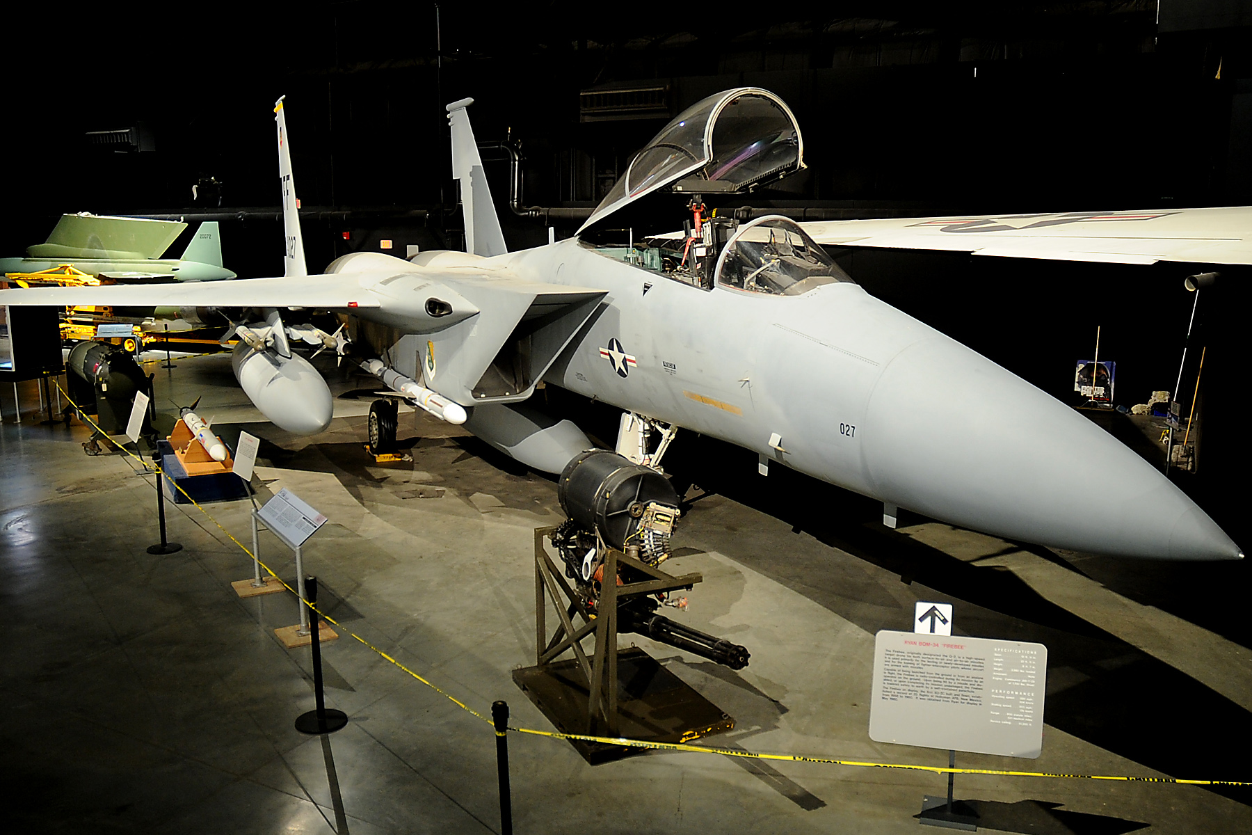 mcdonnell douglas f 15a eagle national museum of the us air force display. Black Bedroom Furniture Sets. Home Design Ideas