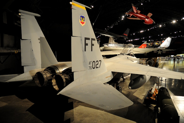 DAYTON, Ohio -- McDonnell Douglas F-15A in the Cold War Gallery at the National Museum of the United States Air Force. (U.S. Air Force photo by Ken LaRock)