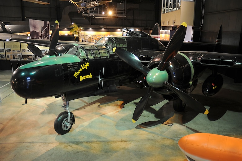 DAYTON, Ohio -- Northrop P-61C Black Widow in the World War II Gallery at the National Museum of the United States Air Force. (U.S. Air Force photo)