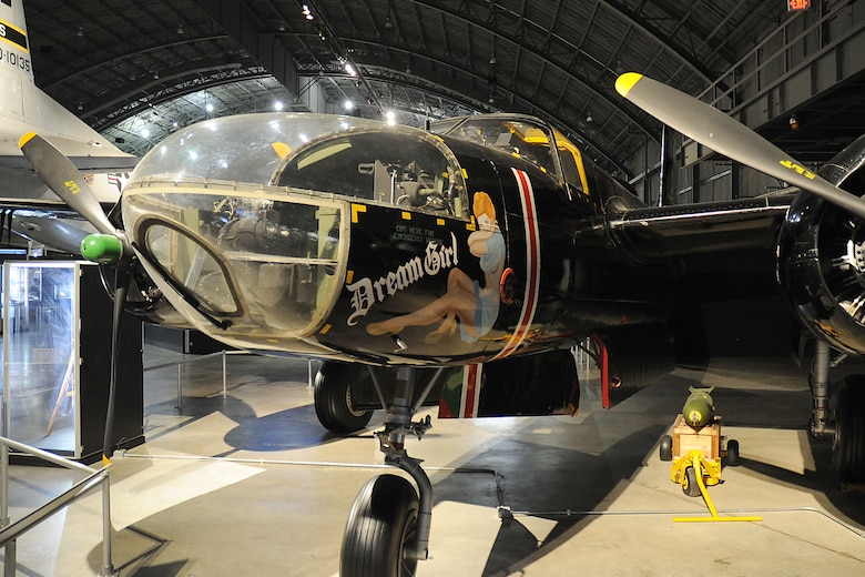 DAYTON, Ohio -- Douglas B-26C (A-26C) Invader in the Korean War Gallery at the National Museum of the United States Air Force. (U.S. Air Force photo)
