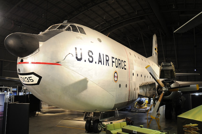 DAYTON, Ohio -- Douglas C-124C Globemaster II on display in the Korean War Gallery at the National Museum of the U.S. Air Force. (U.S. Air Force photo)