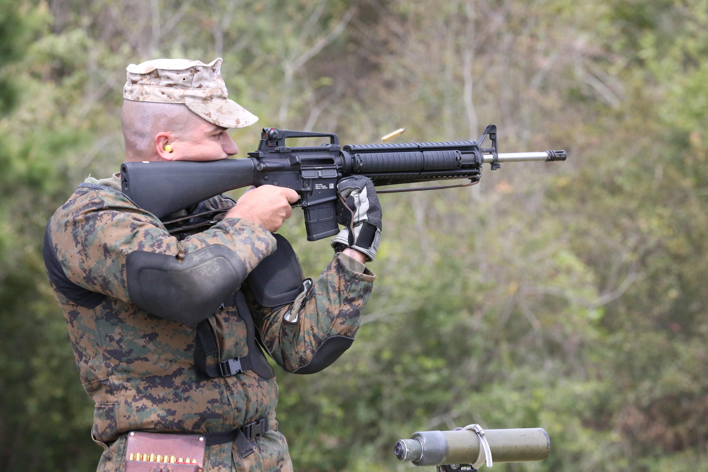 M16a4 service rifle