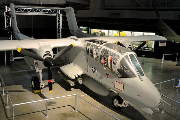DAYTON, Ohio -- North American Rockwell OV-10A in the Southeast Asia War Gallery at the National Museum of the United States Air Force. (U.S. Air Force photo)