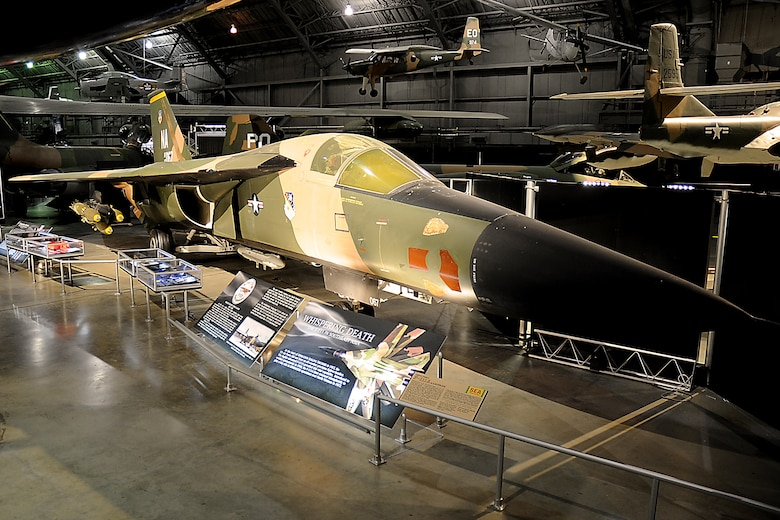 DAYTON, Ohio -- General Dynamics F-111A in the Southeast Asia War Gallery at the National Museum of the United States Air Force. (U.S. Air Force photo by Ken LaRock)