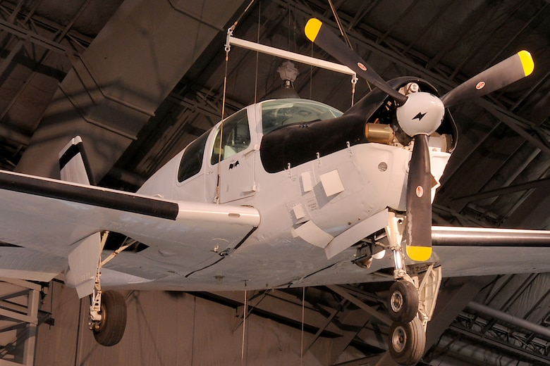 DAYTON, Ohio -- Beech QU-22B in the Southeast Asia War Gallery at the National Museum of the United States Air Force. (U.S. Air Force photo)