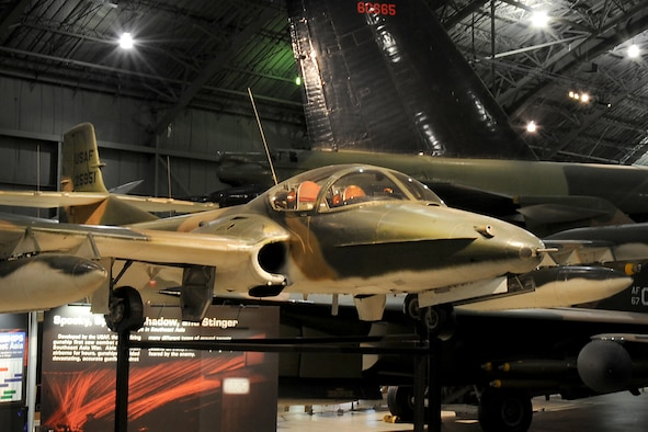 DAYTON, Ohio -- Cessna YA-37A Dragonfly in the Southeast Asia War Gallery at the National Museum of the United States Air Force. (U.S. Air Force photo)