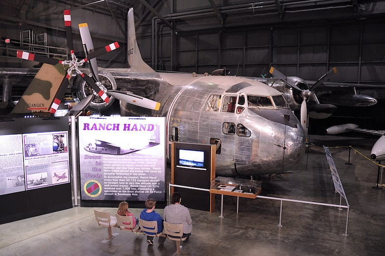 DAYTON, Ohio -- Fairchild C-123K Provider in the Southeast Asia War Gallery at the National Museum of the U.S. Air Force. (U.S. Air Force photo)