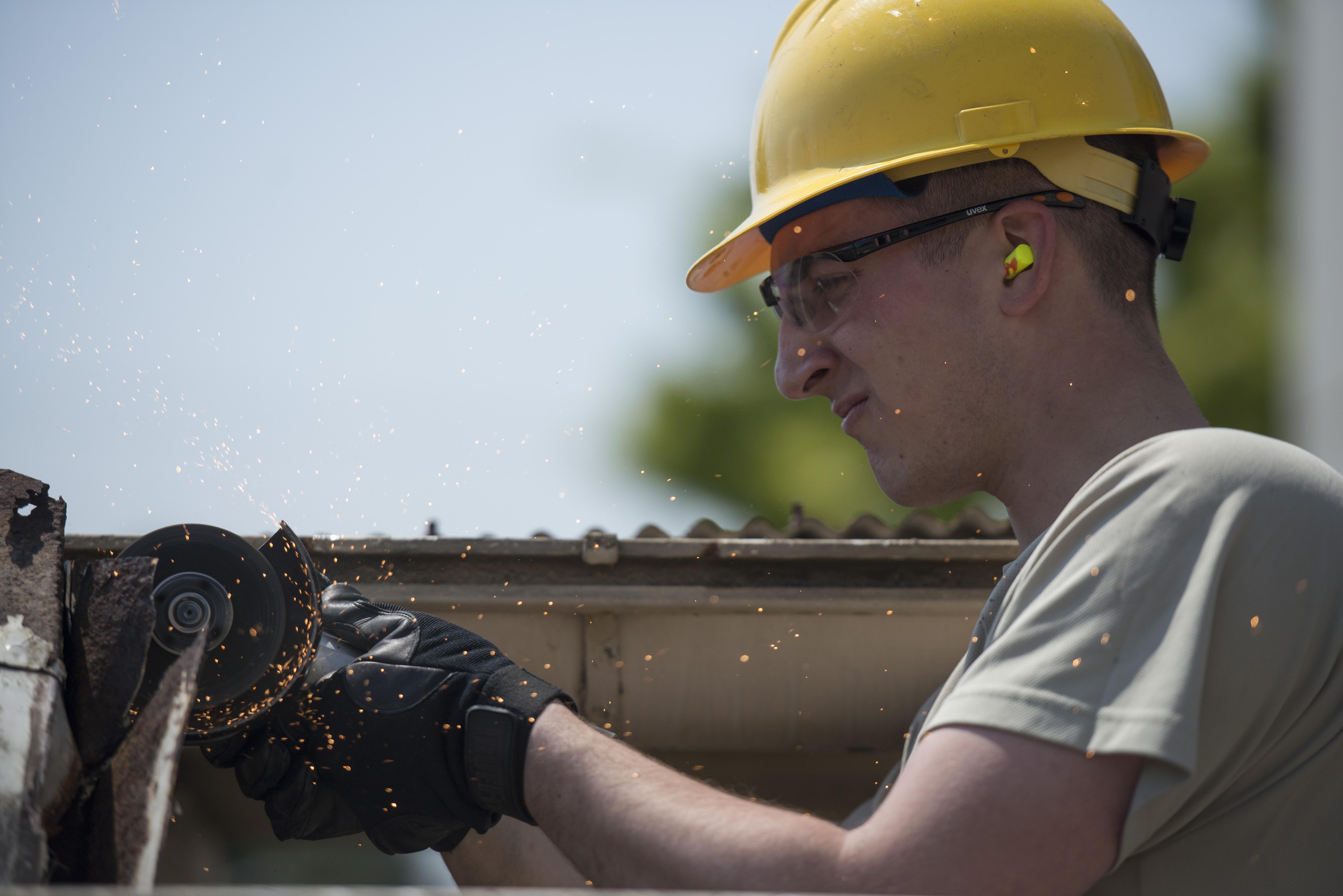 Structures Ensures Safe Environment Gt Yokota Air Base
