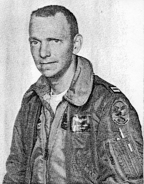Capt. Clifford Landis, 142nd Fighter Interceptor Group, Oregon Air National Guard.